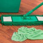 mop, bucket, chores